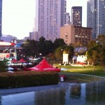 Pavillon Oracle Team USA aux Yerba Buena Gardens
