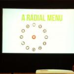Menu radial