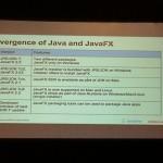 Convergence de Java et JavaFX