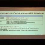 Roadmap de la convergence de Java et JavaFX