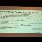 Code ANT pour une application native self-contained