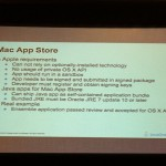 Requis d'une app pour le Mac App Store