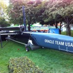 Le voilier Oracle Team USA AC45 #4