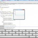 Test du clavier virtuel dans JavaFX.