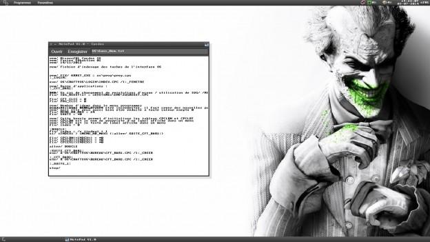 Toute première version du NotePad intégrant le textebox multiligne. Vous pouvez coder CpcdosC+ directement dessus