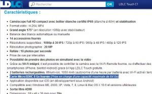 ldlc-touch-c1-specs