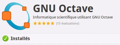 GNU Octave Logithèque Ubuntu