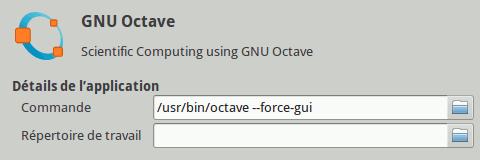 GNU Octave MenuLibre