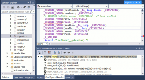 scilab-visual-studio-xtgmath