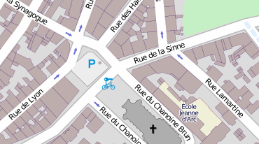 Carte OpenStreetMap
