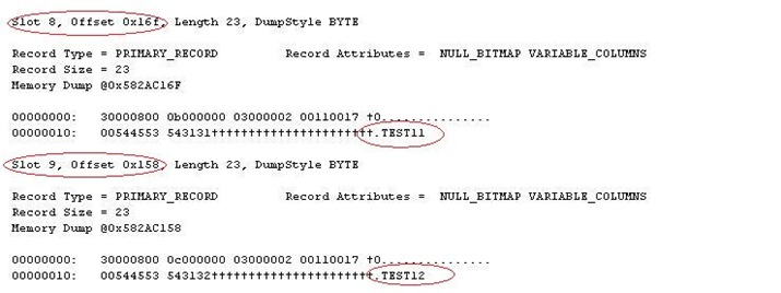 dbcc_page_dbo_cluster11