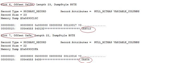 dbcc_page_dbo_cluster5
