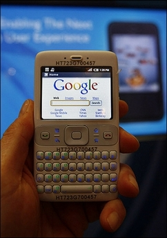 GPhone - Photo AFP