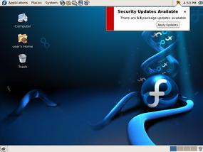 GNU Linux Fedora Core 6
