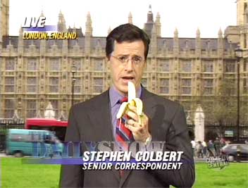 Stephen Colbert, Ninja Extraordinaire