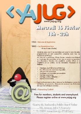 YaJUG poster - Java Annotations