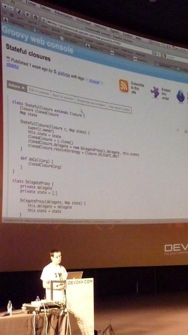 Devoxx 2009 - Google App Engine, Groovy