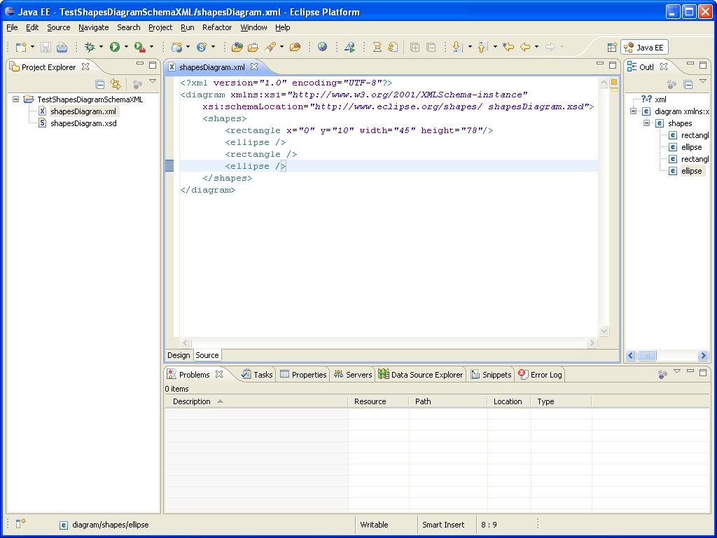 DOM-SSE  - Schema XML - Project