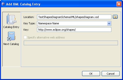 DOM-SSE  - Catalog XML - Add Entry