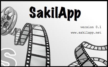 SakilApp - Splash screen