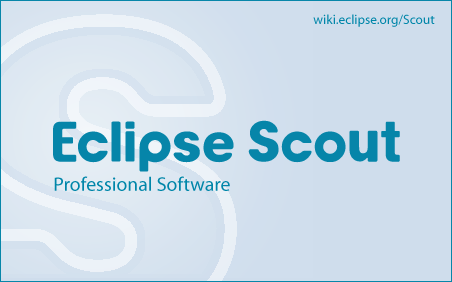 Splash screen - Eclipse Scout